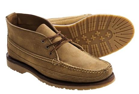 男士高帮靴子鞋带的系法图解
