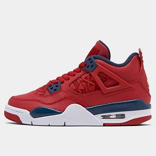 suave y ligero fina artesanía comprar auténtico $135(约941元) FinishLine:Air Jordan 乔丹Retro 4 男子篮球鞋